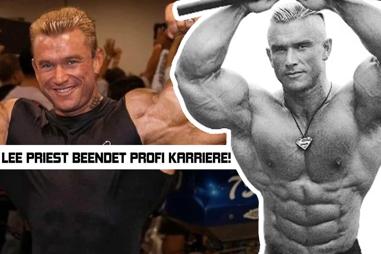 Legende Lee Priest hängt den Bodybuildingsport an den Nagel ...