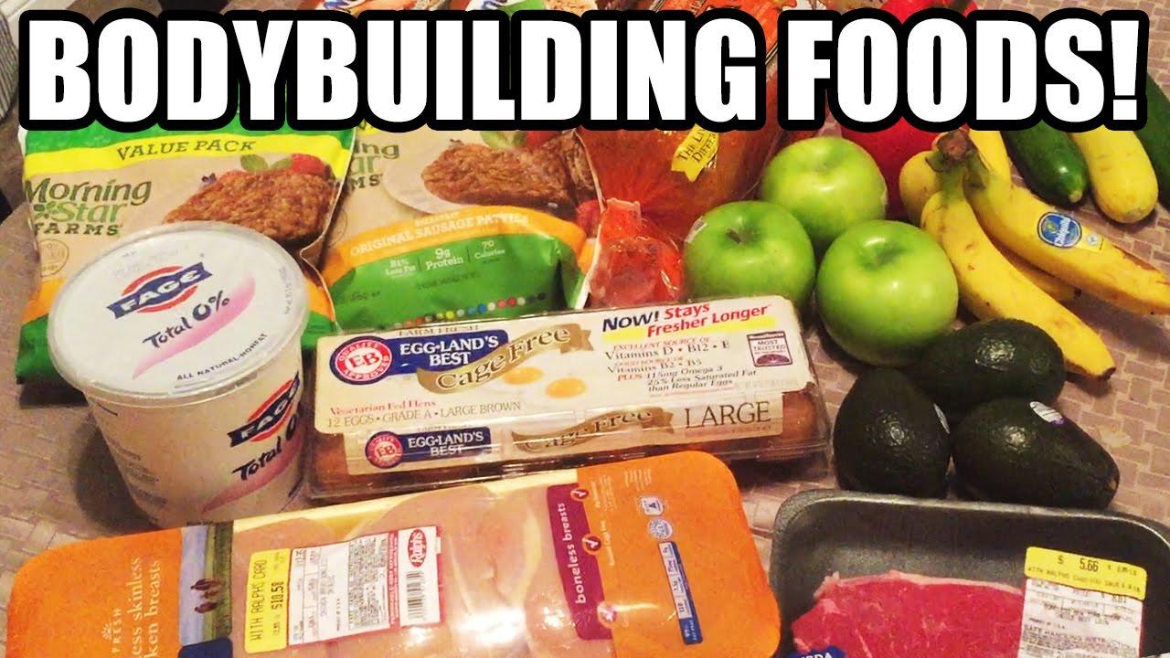 DAS sind die 7 WICHTIGSTEN Lebensmittel für BODYBUILDER