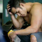 Krank im Gym Training