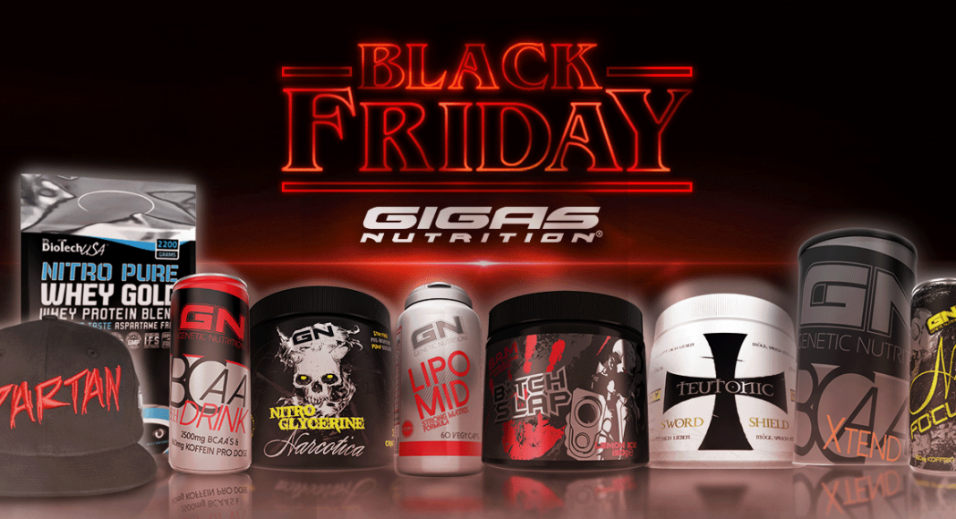 Black Friday Sale Gigas Nutrition