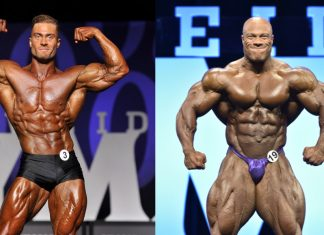 Chris Bumstead VS. Phil Heath