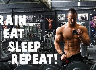 Train, Eat, Sleep, Repeat