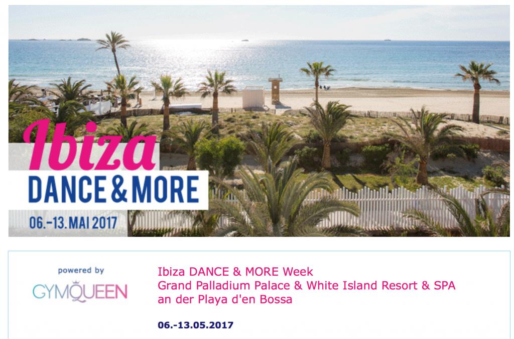 GymQueen Camp auf Ibiza