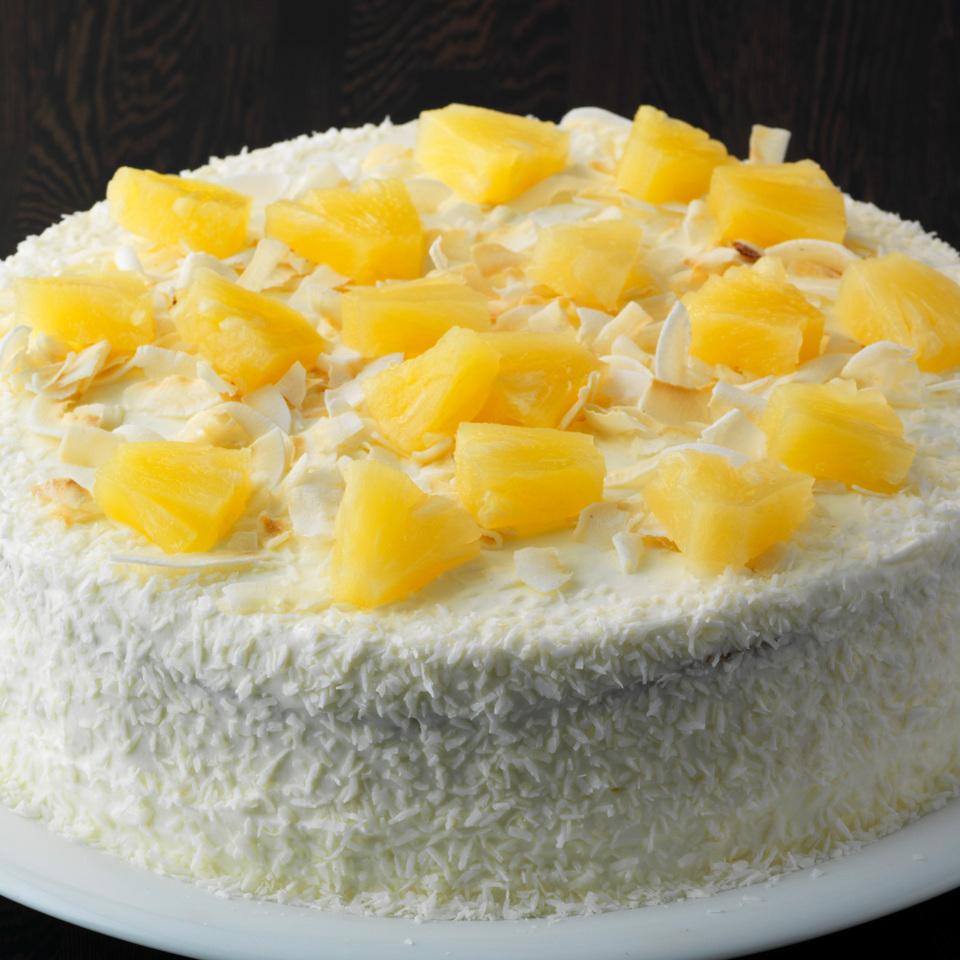 Rezept Der Woche Low Carb Pina Colada Torte Mit Ananas Und Kokos