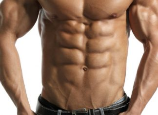 Sixpack Bauchmuskeln Bauch