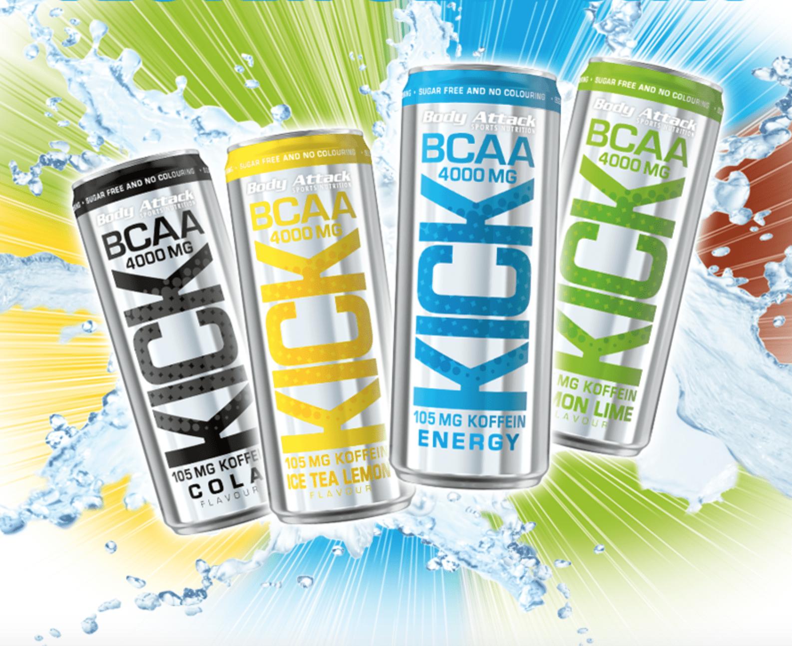 Bcaa Kick Body Attack alle details zu bcaa kick - dem neuen superdrink von body