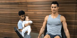 Cristiano Ronaldo CR7 Oberschenkel Training