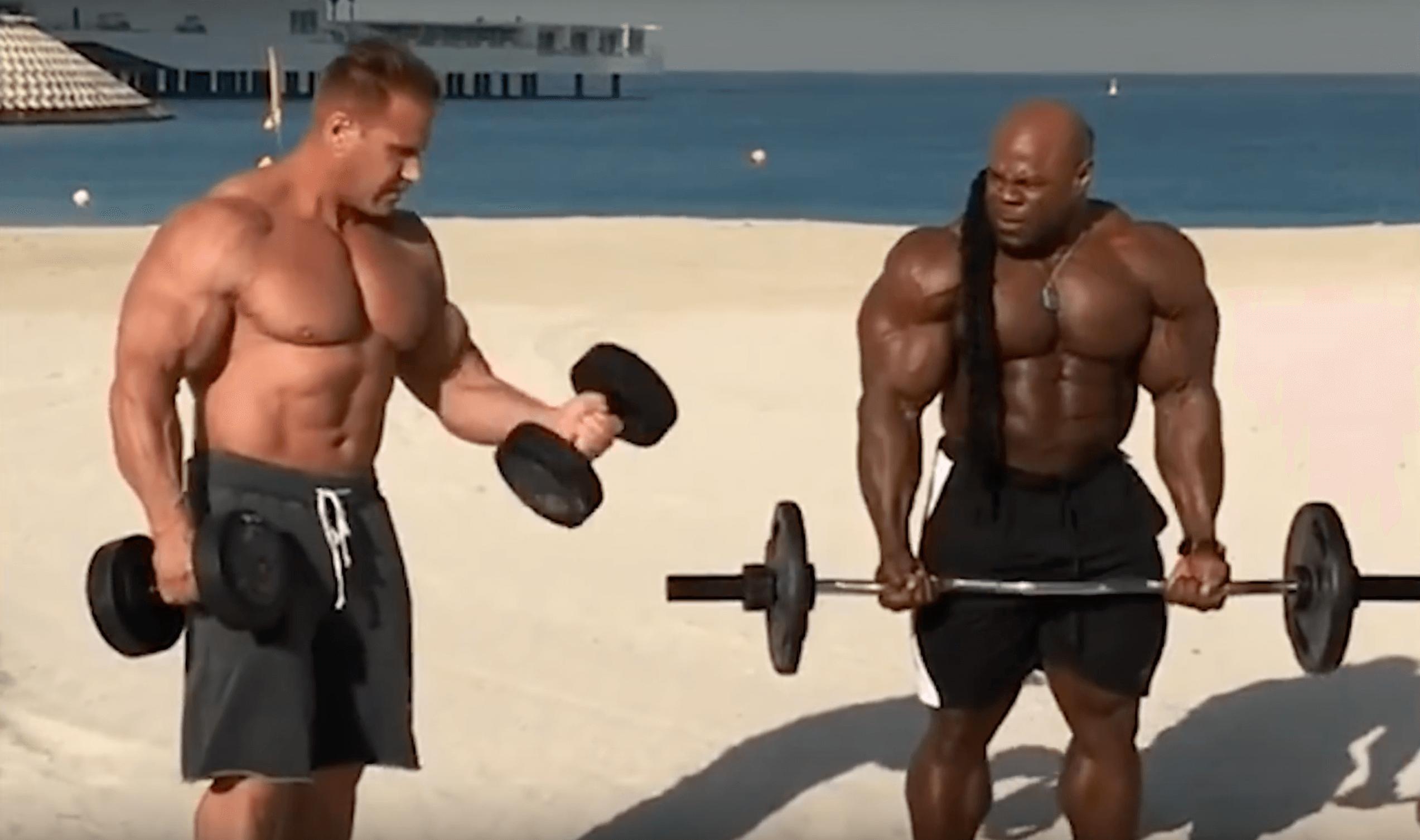 """Bodybuilding """"Rentner"""" im Vergleich: Kai Greene und Jay"""