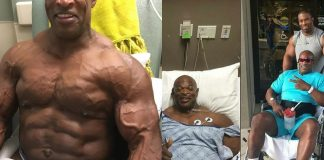 Ronnie Coleman Operation Rücken