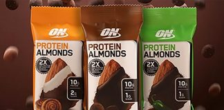 Optimum Nutrition Protein Mandeln