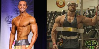 Bradley Martyn Bodybuilding Wettkampf Bühne