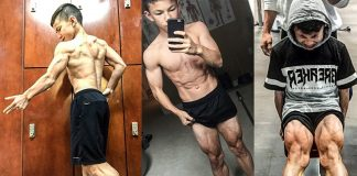Tristyn Lee 15-jähriger Bodybuilder