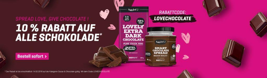 Valentinstag Deal 10 Rabatt Auf Alle Schokoladen Produkte Bei