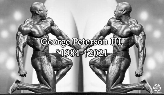George Peterson überraschend verstorben!
