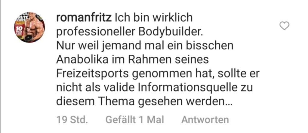 Roman Fritz stichelt gegen Kevin Wolter!